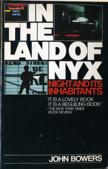 In The Land of NYX: Night and Its Inhabitants
